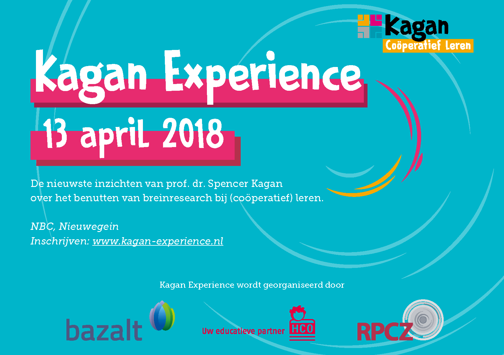 Paginas van Kagan Congres Brochure final